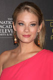 Kim Matula arrives at the 2012 Daytime Emmy Awards Royalty Free Stock Images