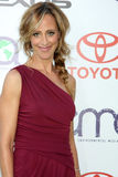 Kim Raver. LOS ANGELES - OCT 15: Kim Raver arriving at the 2011 Environmental Media Awards at the Warner Brothers Studio on October 15, 2011 in Beverly Hills, CA royalty free stock image