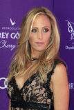 Kim Raver arriving at 11th Annual Chrysalis Butterfly Ball Royalty Free Stock Photo