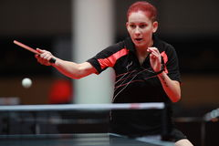 Kim Regina. Qualifications Group at the World table tennis championships in Dusseldorf. 29 May 6 june 2017 Stock Image