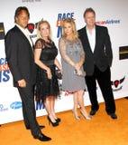 Kim Richards, Kathy Hilton och Rick Hilton Royaltyfri Foto