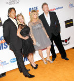 Kim Richards, Kathy Hilton och Rick Hilton Royaltyfri Bild