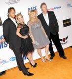 Kim Richards, Kathy Hilton and Rick Hilton Royalty Free Stock Image