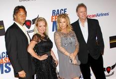 Kim Richards, Kathy Hilton and Rick Hilton Royalty Free Stock Images