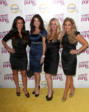 Kim Richards,Kyle Richards,Adrienne Maloof,Lisa Vanderpump Stock Images