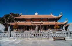 Kim Son Bao Thang Tu-Pagode op Fansipan-berg, hoogste de bergpiek van Fansipan van Indochina royalty-vrije stock foto