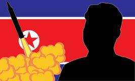 Kim UN Północny Korea ilustracja wektor