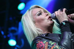 Kim Wilde - ici et maintenant 2010 Photo stock