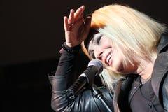 Kim Wilde - qui ed ora 2010 Fotografia Stock