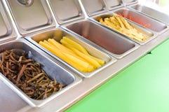 Kimbap ingredients Stock Images