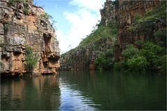 Kimberley Gorge Royalty Free Stock Photos