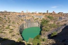 Kimberley stort hål Arkivbilder