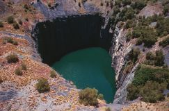 Kimberleys Big Hole Stock Photo