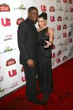 Kimberly Kardashian, Reggie Bush Stock Images