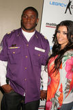Kimberly Kardashian,Reggie Bush Royalty Free Stock Images