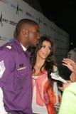 Kimberly Kardashian,Reggie Bush Royalty Free Stock Photography