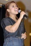 Kimberly Locke appearing live. Stock Photos