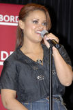 Kimberly Locke appearing live. Kimberly Locke performing live in an in-store appearance at Borders in Hollywood on May 1 2007 Stock Photography