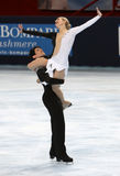 Kimberly NAVARRO / Brent BOMMENTRE (USA) Royalty Free Stock Photo