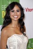 Kimberly Snyder que chega no partido do livro de Kimberly Snyder para ?a solução do Detox da beleza? Imagem de Stock