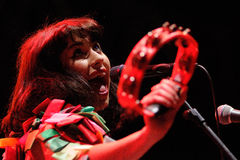 Kimbra Lee Johnson, known mononymously as Kimbra Stock Images