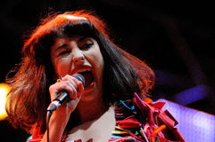 Kimbra Lee Johnson, known mononymously as Kimbra Stock Photos