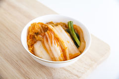 Kimchi (κορεατικά τρόφιμα) στοκ φωτογραφία