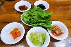 Kimchi, παραδοσιακό των κορεατικών τροφίμων Στοκ φωτογραφίες με δικαίωμα ελεύθερης χρήσης