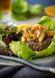 Kimchi Burger Royalty Free Stock Photography