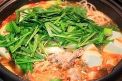 Kimchi casserole Royalty Free Stock Photo