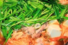 Kimchi casserole Stock Photo