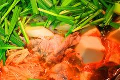 Kimchi casserole Royalty Free Stock Image