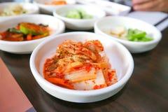 Chinese cabbage salad or Korean salad Royalty Free Stock Image