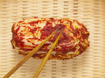 Kimchi coreano Fotografía de archivo libre de regalías