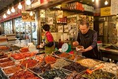 Kimchi coreano sul Foto de Stock