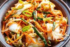 Kimchi coreano tradicional del bocado Fotografía de archivo
