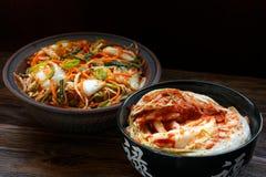 Kimchi coreano tradicional del bocado Imagen de archivo libre de regalías