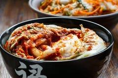Kimchi coreano tradicional del bocado Fotos de archivo libres de regalías