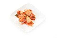 Kimchi on a dish Royalty Free Stock Photo