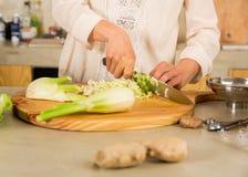 Kimchi et choucroute de chou Photographie stock