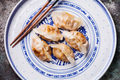 Kimchi Fried Dumplings Royalty Free Stock Images
