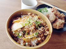 Kimchi fried rice Royalty Free Stock Image