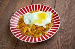 Kimchi fried rice Royalty Free Stock Image