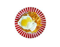 Kimchi fried rice Royalty Free Stock Photo
