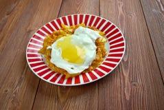Kimchi fried rice Stock Image