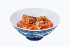 Kimchi grönsakmat i Korea matmeny Arkivfoto