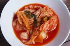 Kimchi grönsakmat i Korea matmeny Royaltyfri Bild
