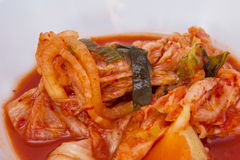 Kimchi grönsakmat i Korea matmeny Fotografering för Bildbyråer