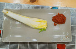 Kimchi ingredient  pickle group. Korean food Stock Photos