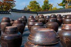 Kimchi Jars Royalty Free Stock Photos